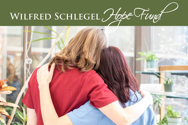 "With the Wilfred Schlegel Hope Fund, team members can be ""receivers of care,"" in times of need."
