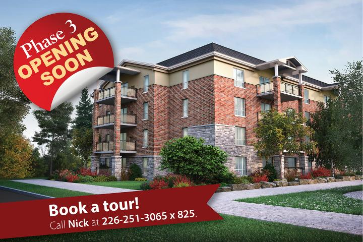 Book a tour at the Village of Arbour Trails Retirement Home in Guelph