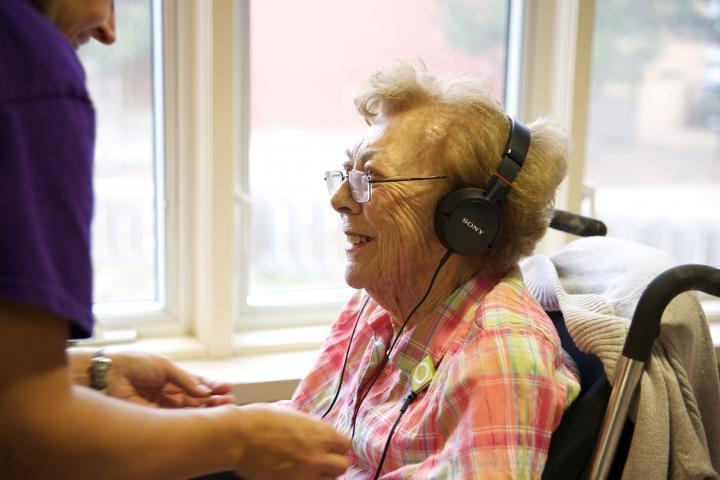 Music & Memory provides a personalized playlist for seniors living with dementia