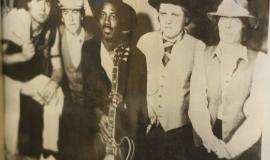 Doc Wright (second from right) is considered by many to be a legend in the Windsor music scene.