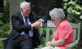 The Right Honourable David Johnston says #ElderWidsom is a way to cherish our teachers.