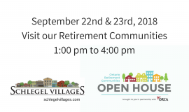 ORCA - Ontario Retirement Home Open House