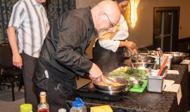 Four Chefs representing The Ruby from their respective Village squared off in an Iron Chef Challenge.